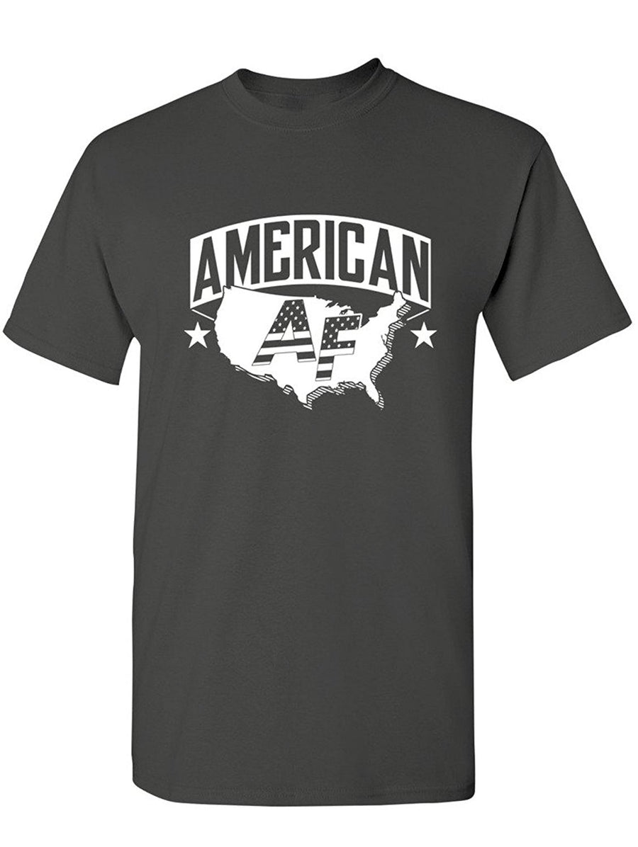 Manateez Men's Proud to Be American AF Tee Shirt