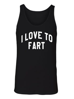 Manateez Men's I Love To Fart Tank Top