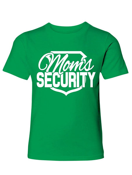 Manateez Boys Mom's Security Tee Shirt