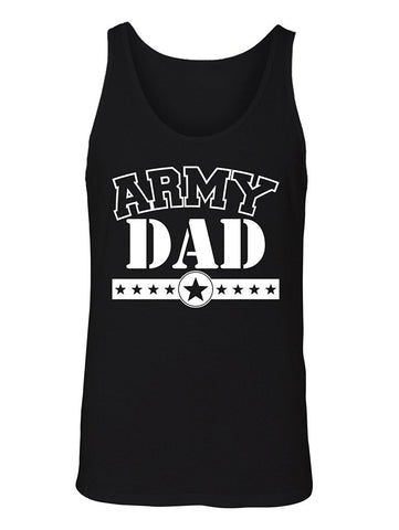 Manateez Men's Army Dad Tank Top