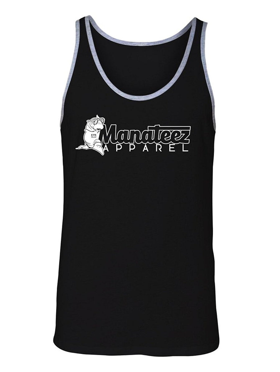 Manateez Men's Apparel Brand Logo Tank Top