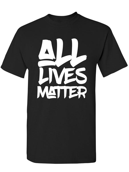 Manateez Men's All Lives Matter Tee Shirt