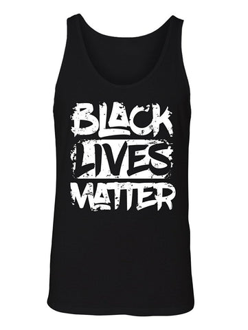 Manateez Men's Black Lives Matter Tank Top