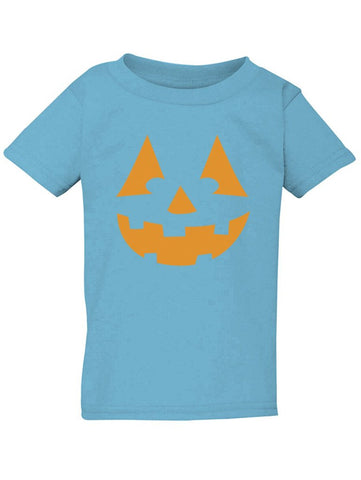 Manateez Infant Orange Jack O Lantern Tee Shirt