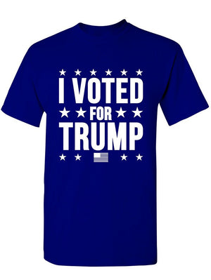 Manateez Men's I Voted for Trump Tee Shirt