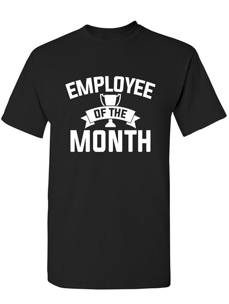 Manateez Men's Employee of the Month Award Tee Shirt