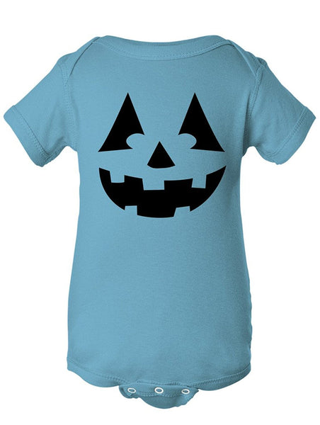 Manateez Infant Black Jack O Lantern Bodysuit