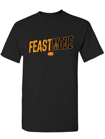 Manateez Men's Thanksgiving Dinner Feast Mode Tee Shirt