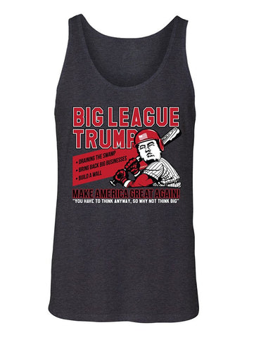 Manateez Men's Donald Trump Big League Chew Make America Great Again Tank Top