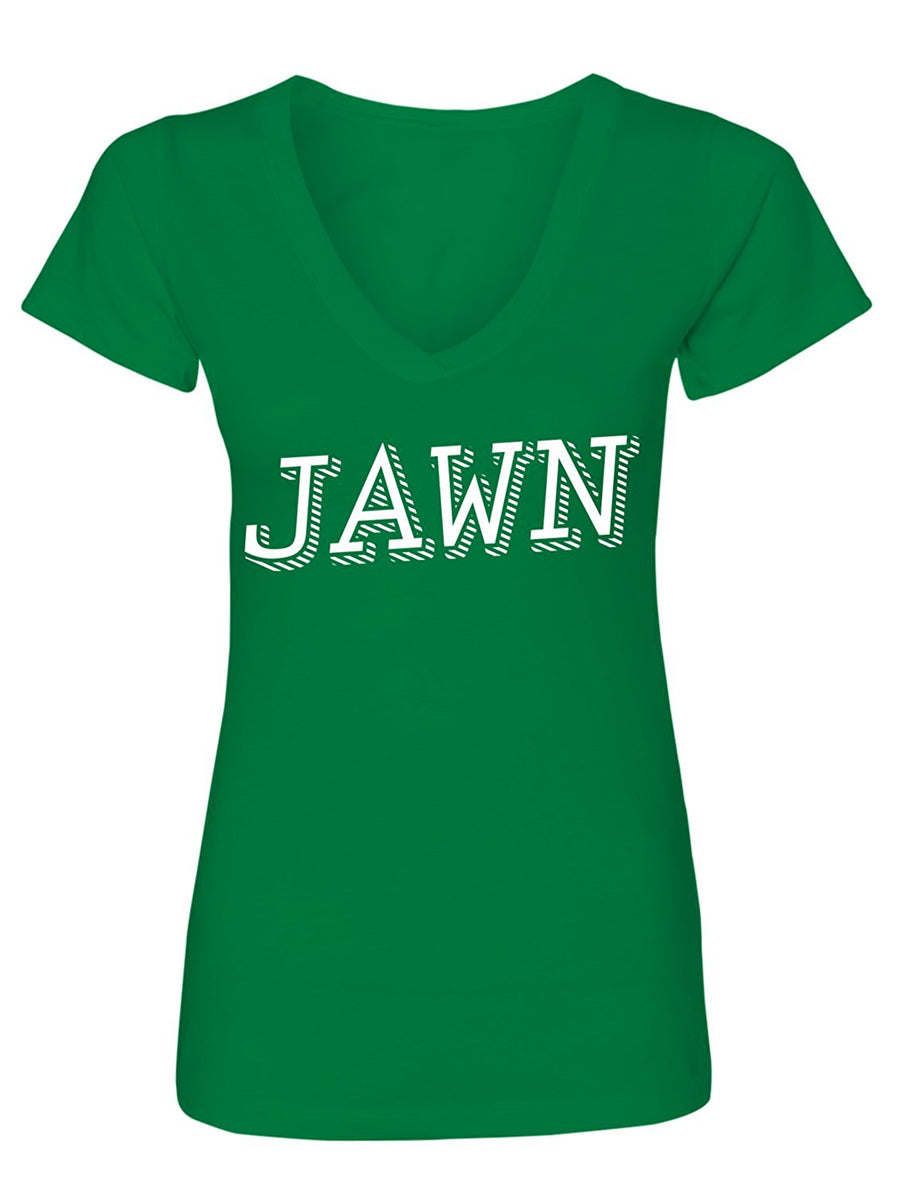 Manateez Women's Philly Jawn V-Neck