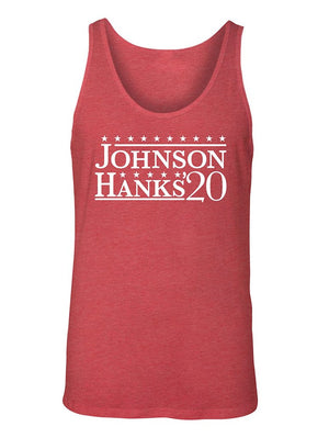 Manateez Men's Dwyane Rock Johnson for President 2020 Tank Top