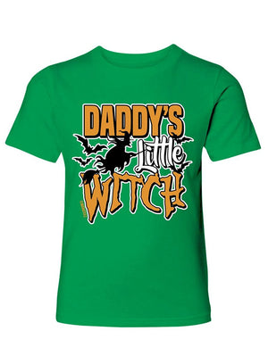 Manateez Boys Daddy's Little Witch Tee Shirt