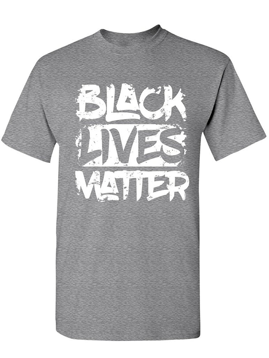 Manateez Men's Black Lives Matter Tee Shirt