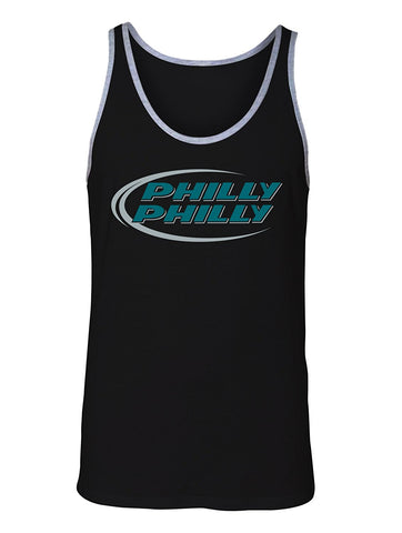 Manateez Men's Budlight Dilly Dilly Eagles Philly Philly Tank Top