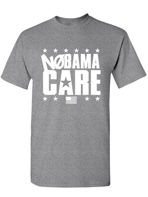 Manateez Men's NoBama Care Obamacare Repeal Tee Shirt