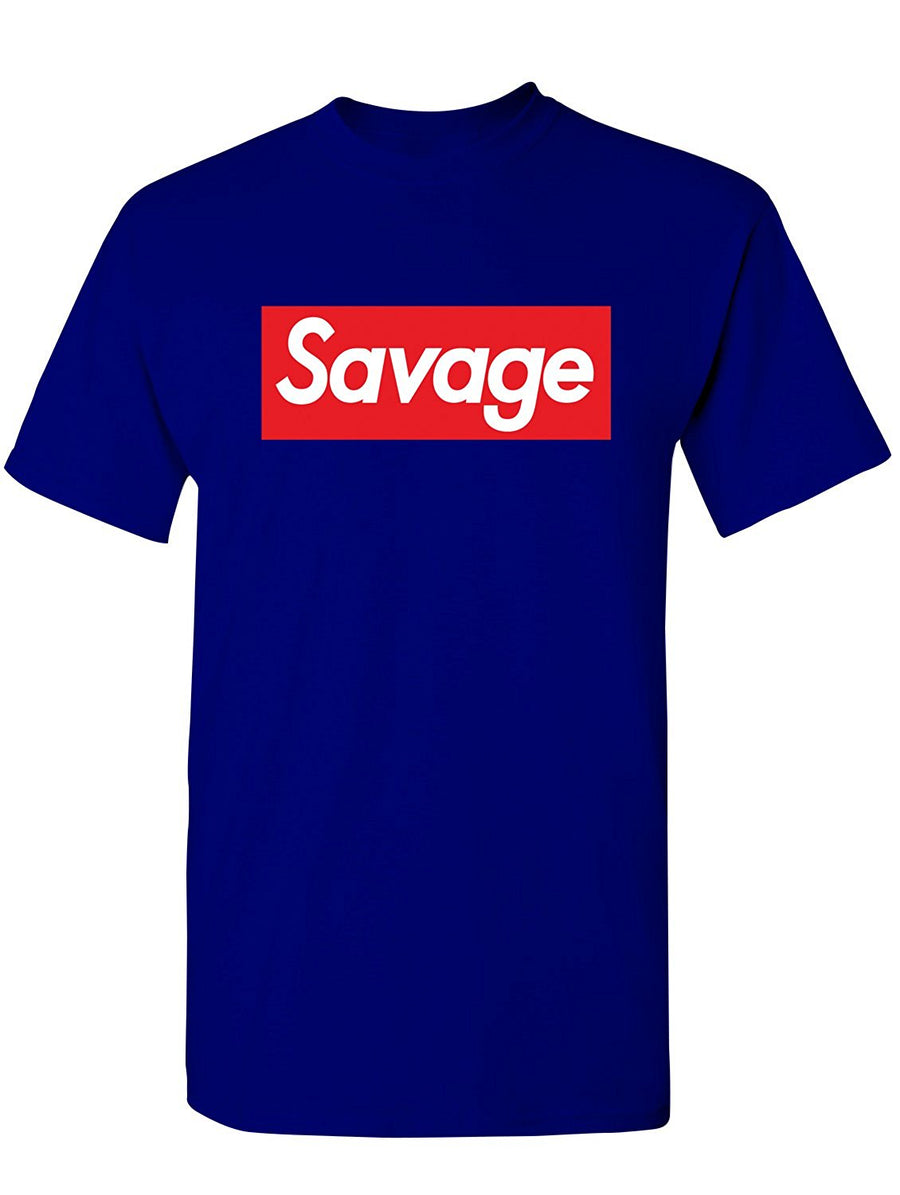 Manateez Men's Savage Skateboarding Tee Shirt