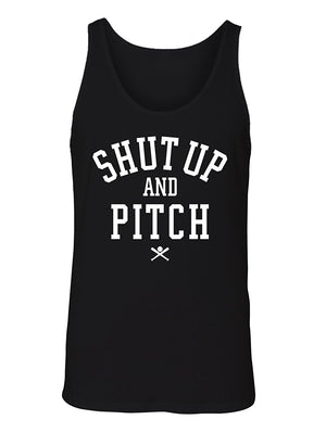 Manateez Men's Shut Up and Pitch Tank Top