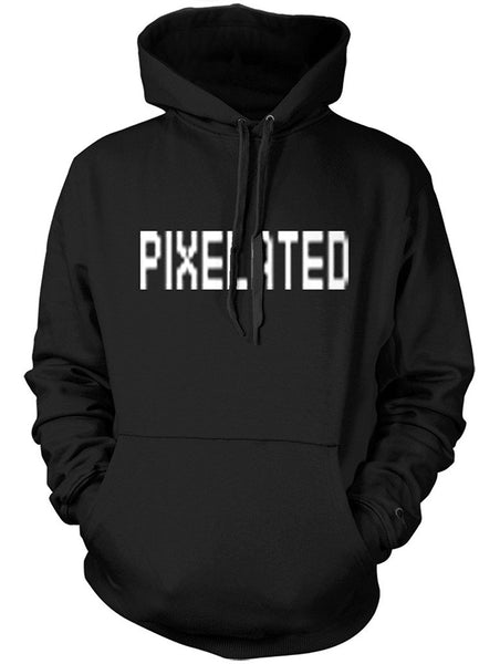 Manateez It's Unclear Pixelated Graphic Hoodie