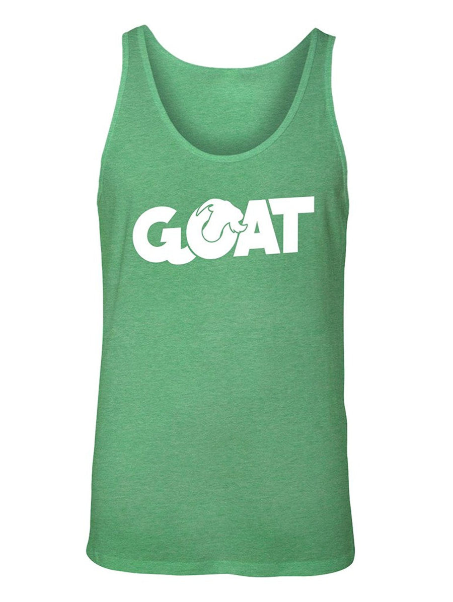 Manateez Men's G.O.A.T. Greatest of All Time Tank Top