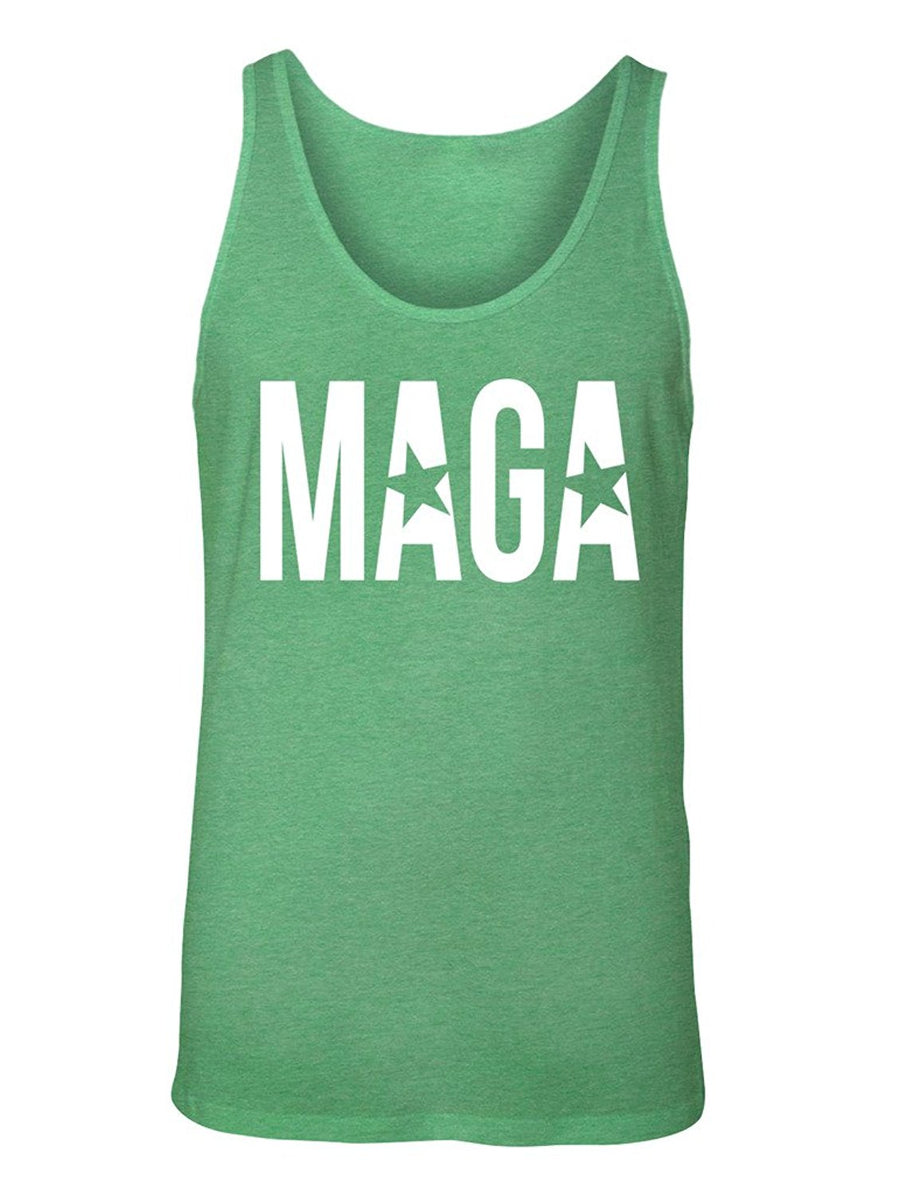 Manateez Men's MAGA Make America Great Again Tank Top