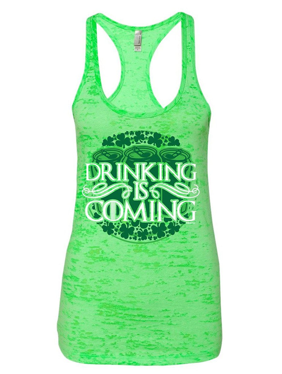 Manateez Women's St. Patrick's Day Drinking is Coming Burnout