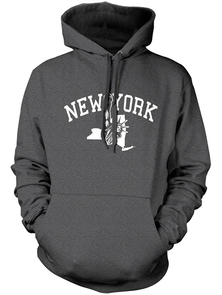 Manateez New York Statue Of Liberty Hoodie