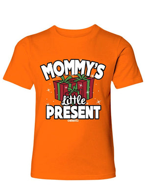 Manateez Boy's Mommy's Little Present Tee Shirt