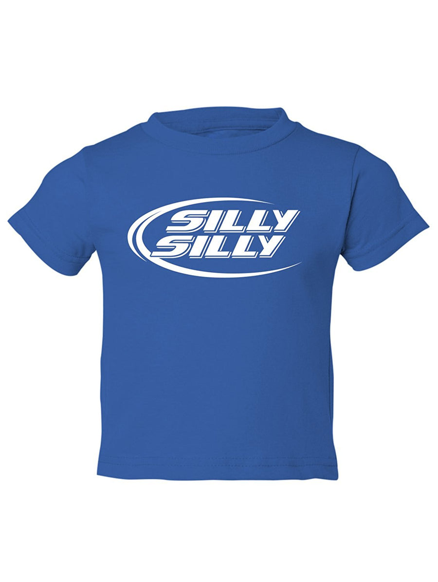 Manateez Toddler Budlight Silly Silly Commercial Tee Shirt