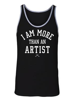 Manateez Men's I Am More Than Just an artist Tank Top