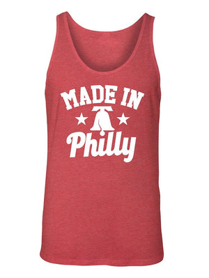 Manateez Men's USA Made in Philly Liberty Bell Tank Top