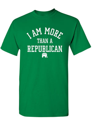 Manateez Men's I Am More Than A Republican Tee Shirt