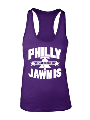 Manateez Women's Liberty Bell Philly Jawn Is Racer Back