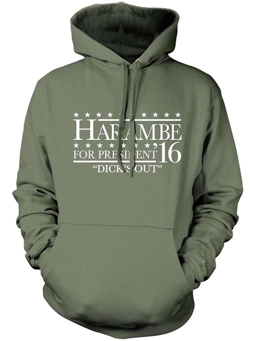 Manateez Harambe for President '16 Hoodie