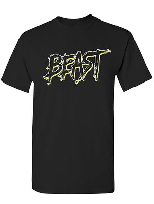 Manateez Men's The Beast I'm a Beast Tee Shirt