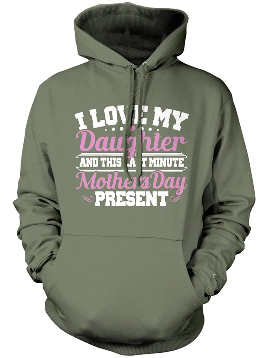 Manateez Mother's Day Last Minute Gift from Daughter Hoodie