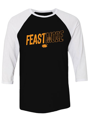 Manateez Thanksgiving Dinner Feast Mode Raglan