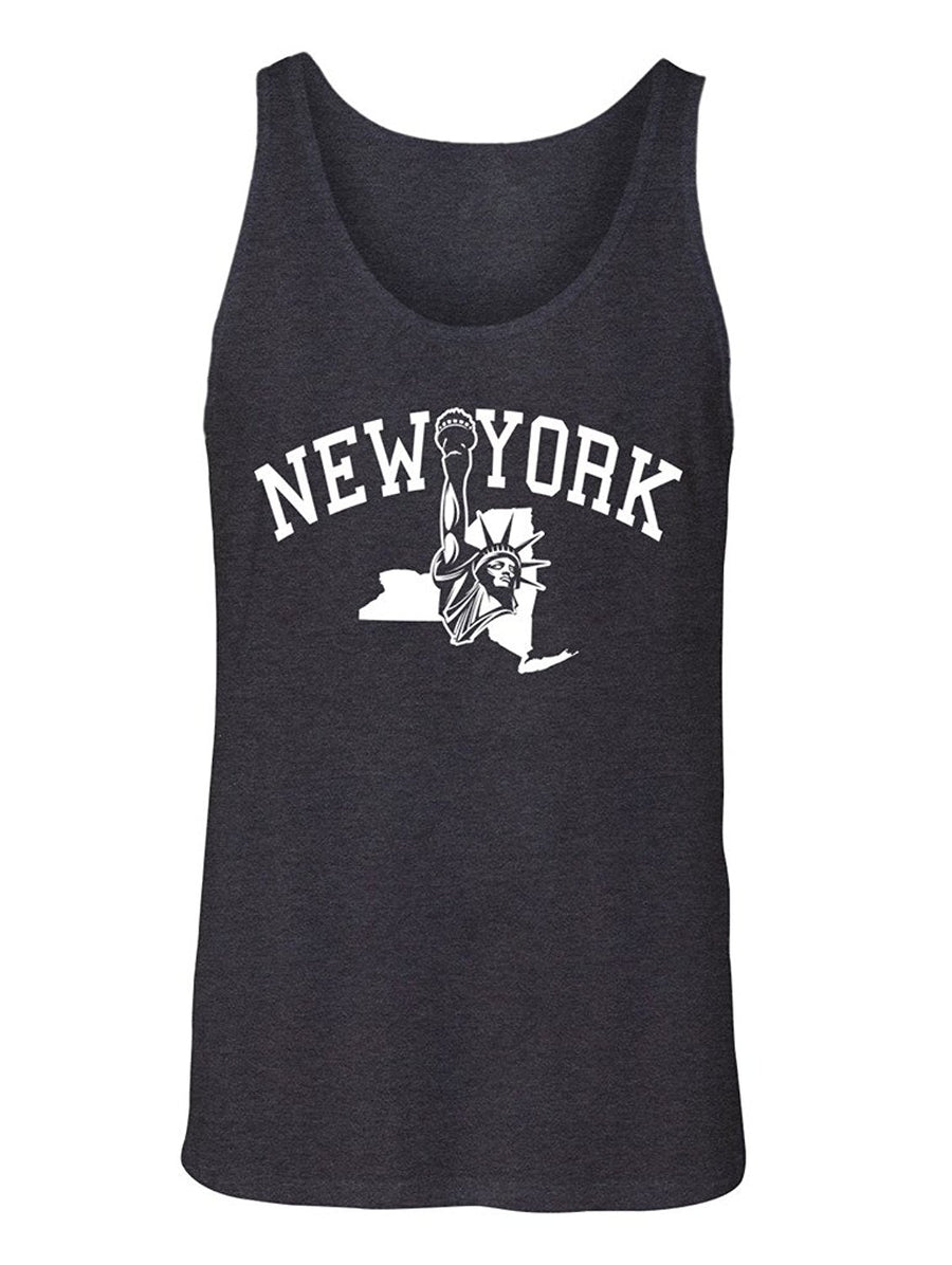 Manateez Men's New York Statue of Liberty Tank Top