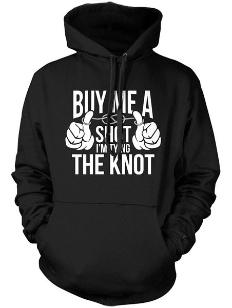 Manateez Women's Buy Me A Shot I'm Tying the Knot Wedding Hoodie