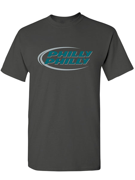 Manateez Men's Budlight Dilly Dilly Eagles Philly Philly Tee Shirt Large Black