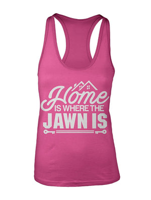 Manateez Women's Philly Home is Where The Jawn Is Racer Back