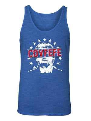Manateez Men's Donald Trump Covfefe Tweet Tank Top