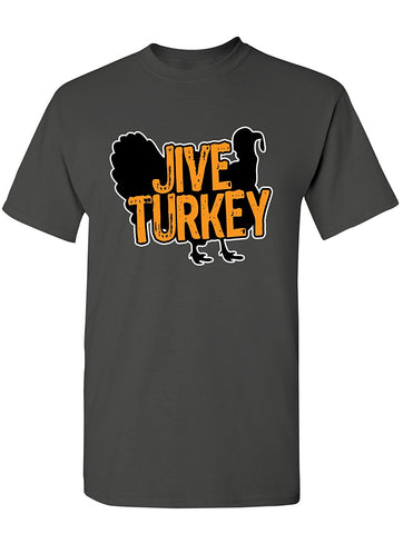Manateez Men's Thanksgiving Dinner Jive Turkey Tee Shirt