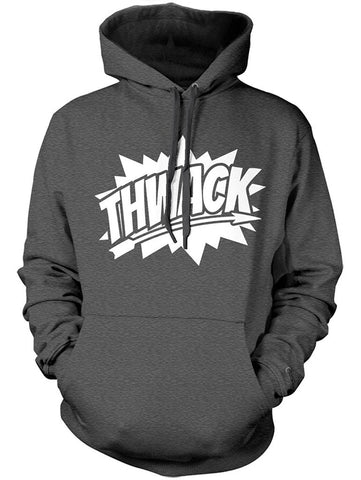 Manateez Thwack Bow Hunting Graphic Hoodie