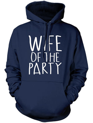 Manateez Wife Of The Party Hoodie