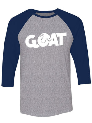 Manateez G.O.A.T. Greatest of All Time Raglan Tee Shirt