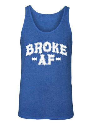 Manateez Men's I'm Poor Broke AF Tank Top