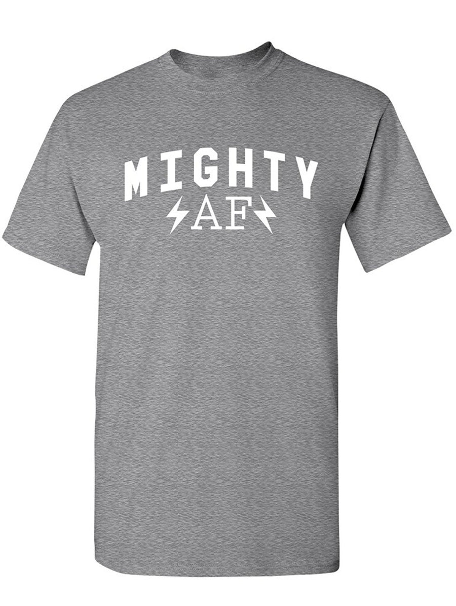 Manateez Men's Strong Man Mighty AF Tee Shirt