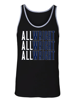 Manateez Men's Villanova National Champs All Wright Jay Tank Top