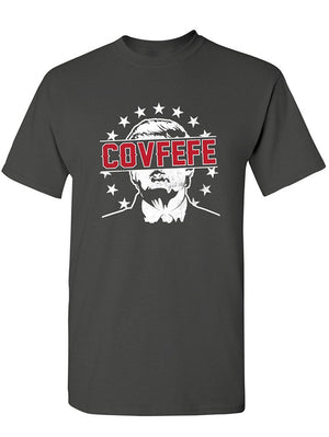 Manateez Men's Donald Trump Covfefe Tweet Tee Shirt