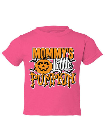 Manateez Toddler Mommy's Little Pumpkin Tee Shirt